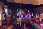 Dancing strippers for you in orgy party