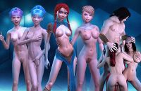 3D Girlz game with 3D anime porn