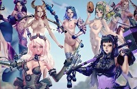 Crystal Maidens free Nutaku porn game