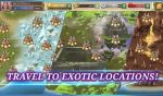 Travel to exotic locations in crystal maidens