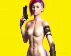 Online free sex games CyberSluts 2069