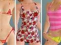 Erotic bikini for a virtual lesbian sluts