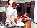 Kitchen fuck in real life porn game