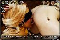 Sexy butt has licked pussy by a blindfolded lesbian