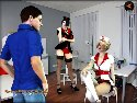Sex and glory games with naughty nurses looking for a sex