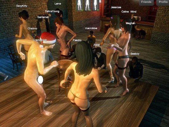 Sexy game party