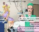 Horny doctor wants to fuck busty nurse assistant